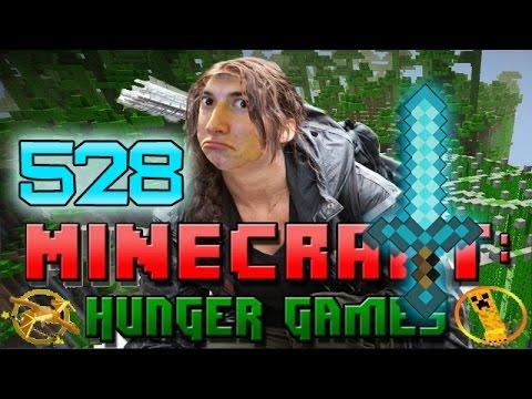 Minecraft: Hunger Games w/Mitch! Game 528 - BEST D EVER!