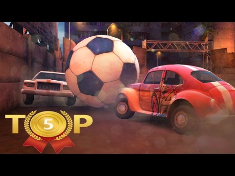 ТОП 5 Лучших Игр про Футбол на Андроид, в Честь ЕВРО 2016 | drintik