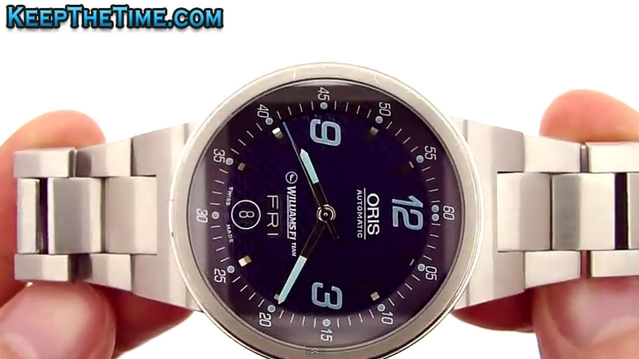 Oris Williams f1 Watch Oris Bmw Williams f1 Watch