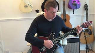 Queen - Don't Stop Me Now - Guitar Solo Lesson (Guitar Tab)
