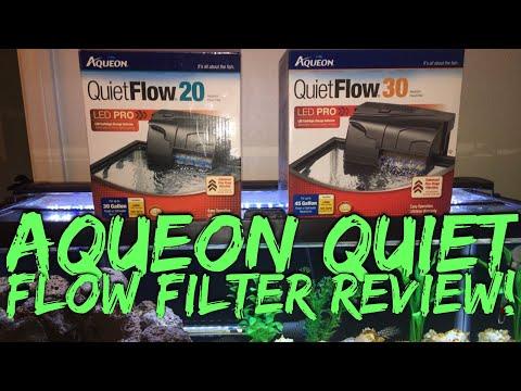 Aqueon Quiet Flow LED PRO Filters Review