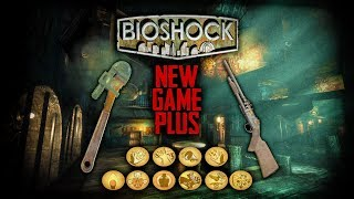 Bioshock New Game Plus | All Upgraded Weapons, All Upgraded Plasmids, All Upgraded Tonics!