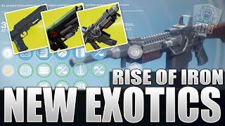 Destiny Rise Of Iron: New EXOTICS! Thorn Returns! Insane Siva Pulse - The Khvostov 7G-0X