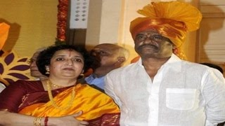 Rajini and Latha Rajinikanth in their 36th year of married life