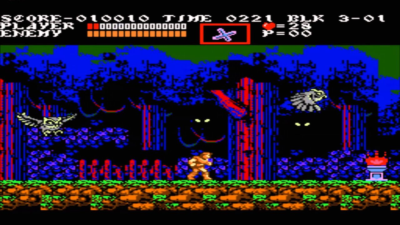 Castlevania Nes Wallpaper Castlevania 3 Gameplay Nes