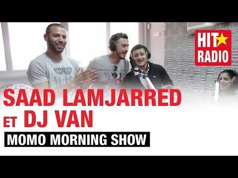 COVER D' #ENTY AVEC SAAD LAMJARRED ET DJ VAN DANS LE MORNING DE MOMO - 07/04/14