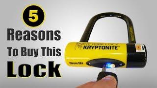 2019 Best Selling Kryptonite New York Lock Fahgettaboutit Mini U Lock