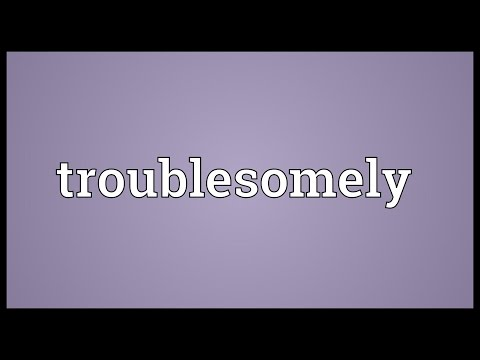 Header of troublesomely