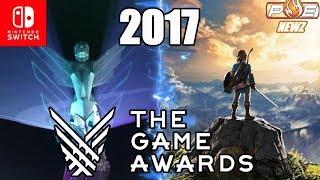 The Game Awards 2017 - Zelda, Mario, Splatoon & More Nominated for Multiple Awards!