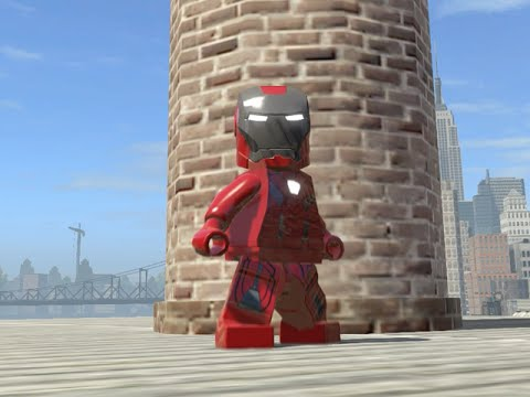 LEGO Marvel Superheroes - IRON MARK 33 FREE ROAM GAMEPLAY (MOD SHOWCASE)
