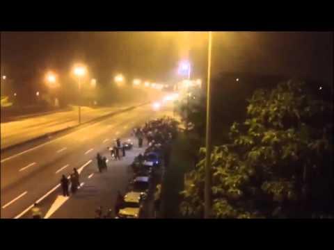 Yamuna Expressway Accident Live 2015 Noida ✔