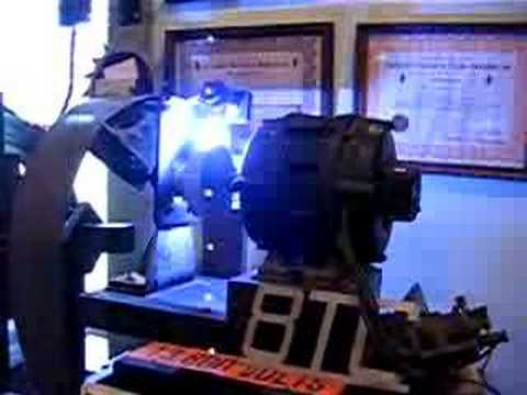 1 kW Rotary Spark at AWA Museum In Action 2004
