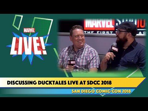 Ducktales' Matt Youngberg and Francisco Angones Live at SDCC 2018
