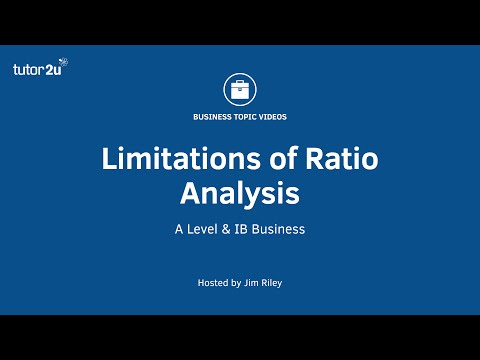 limitation of ratio analysis Ratio analysis suffer from certain limitations even though they are easily calculated and understood significance of ratio analysis is based on its usage.