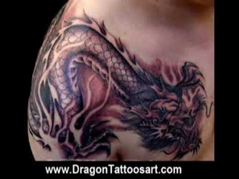 www.dragontattoosart.com View And Download Amazing dragon tattoo designs and
