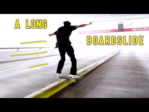 A Long Boardslide - Chris Chann