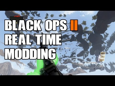 Call Of Duty Black Ops 2 - Modded Lobby - Real Time Modding Tutorial 2014 [HD]