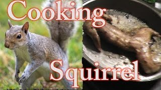 Slingshot Hunting - How to Clean and Cook a Squirrel