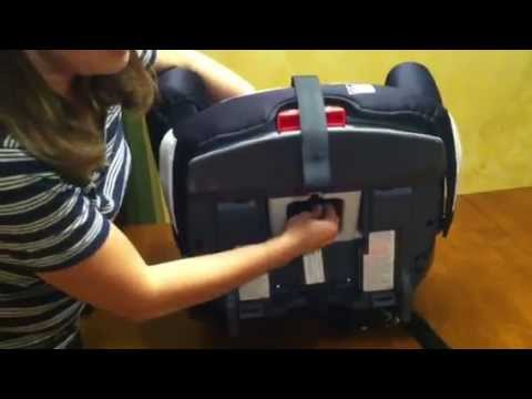 Graco Argos 70 Elite Review: Harness Removal - converting to booster mode