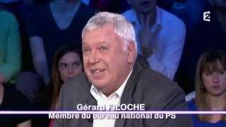 """""""Elevée par des homosexuelles, finalement c'était bien"""" Gérard Filoche 10/05/14 #ONPC"""