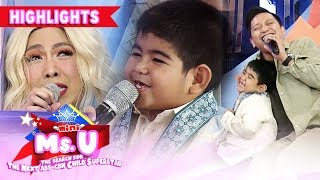 Vice and Jhong laugh their hearts out because of Yorme's answer | It's Showtime Mini Miss U