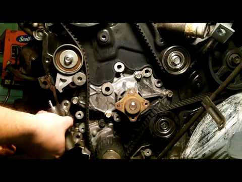 Mazda 626 - V6 Timing Belt & Water Pump Part 1