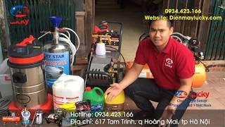 Giới thiệu bộ thiết bị rửa xe ô tô chuyên nghiệp cho các trạm rửa xe mới mở