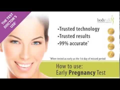 MyBodyTalk Pregnancy Test Kit Instuctional Video