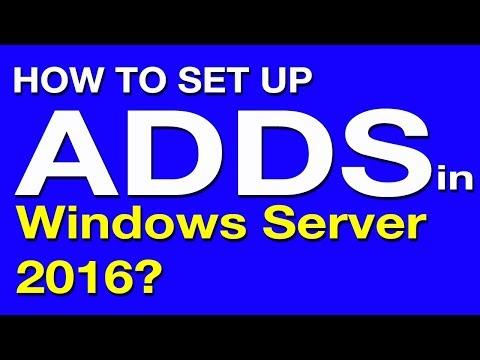 windows server 2016 active directory installation tutorial - Windows Server 2016 Beginners Tutorials