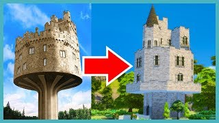 Building a  Castle Tower in The Sims 4 with Deligracy (Sims 4 Build)