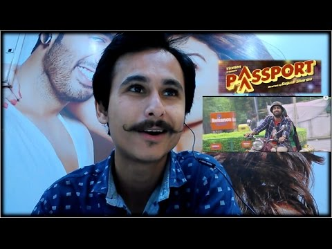 Passport Trailer Reaction & Review | Malhar Thakar | Gujarati Movie thumbnail