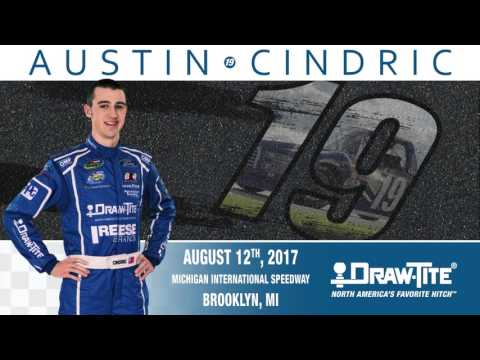 Austin Cindric Races Michigan International Speedway in the #19 Draw•Tite® Ford