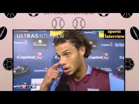 Aston Villa 1-0 Birmingham - Rudy Gestede Post Match İnterview