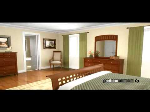 3D Architectural Home House Animation - Interior and Exterior