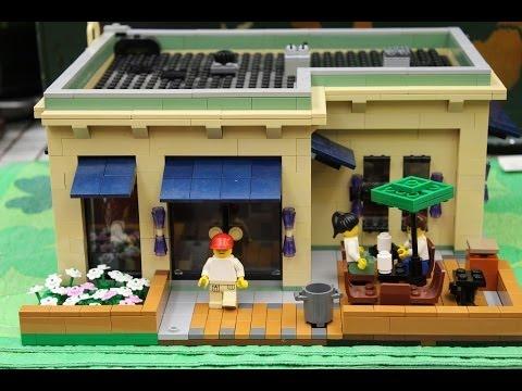 LEGO Starbucks Coffee Shop My Own Creation