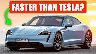 Why Porsche Taycan Is Faster Than Tesla