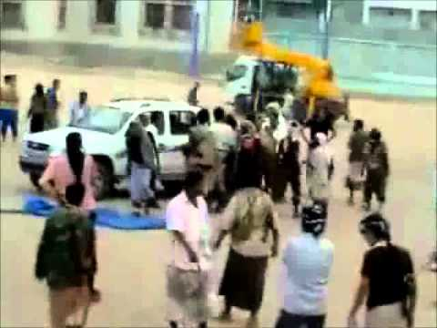 Public Execution of Anti-Saleh Fighter- Yemen