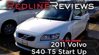 2011 Volvo S40 T5 Start Up, Review, Walkaround, Exhaust