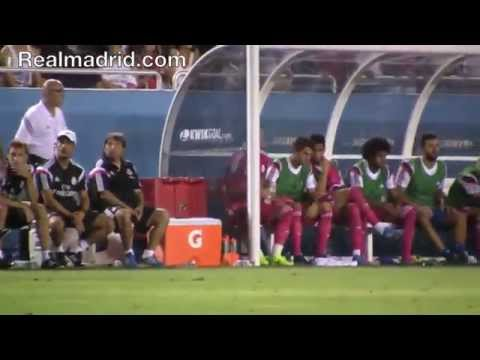 REAL MADRID BEHIND THE SCENES: Sergio Ramos' first game after winning La Décima