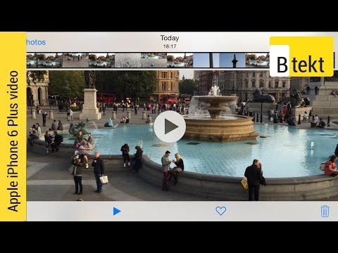 Apple Iphone 6 Plus Video Sample (downloadable) video