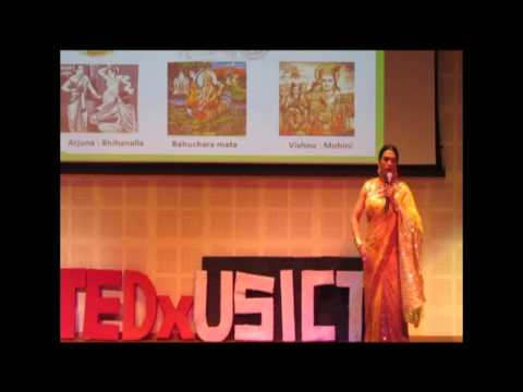 Situation of transgenders in India | Abhina Aher | TEDxUSICT