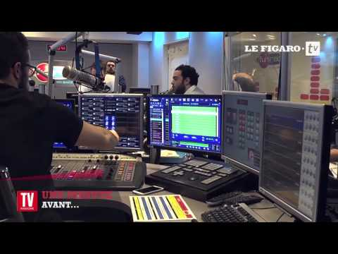 Bruno Guillon : une minute avant le direct sur Fun Radio