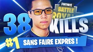 KINSTAAR 38 KILLS SANS FAIRE EXPRES - FORTNITE FR TOP 1