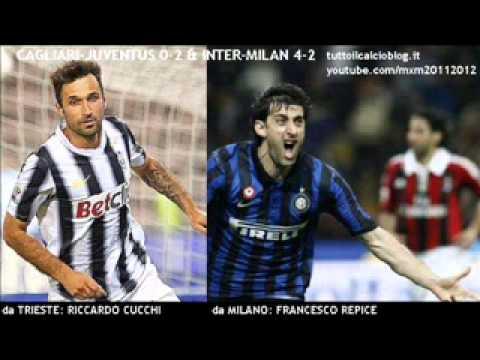CAGLIARI-JUVENTUS 0-2 & INTER-MILAN 4-2 - Cronaca Integrale di Riccardo Cucchi & Francesco Repice