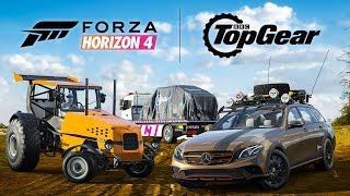 Race the 500bhp Track-tor in Forza Horizon 4 | Top Gear