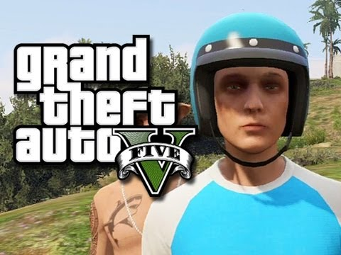 GTA 5 Online Random Moments!  (Bad Driving Skills, Crazy Grandma, and More!)