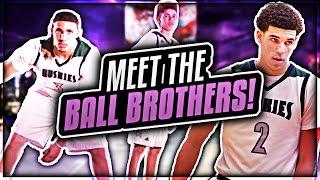 Meet the Ball Brothers   LaMelo Ball, Lonzo Ball, LiAngelo Ball   Future NBA Stars