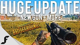 NEW GUN + HUGE UPDATE - PUBG ( Playerunknown's Battlegrounds )