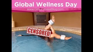 Global Wellness Day : Water Shiatsu Massage & POUND by Z!NK