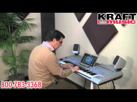 Kraft Music - Yamaha Tyros4 Demo with Peter Baartmans